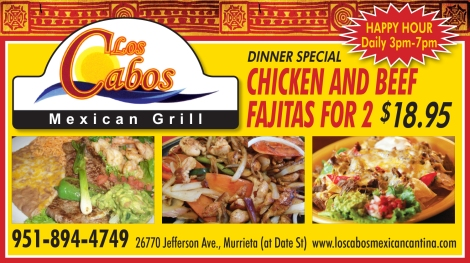 Dinner Special at Los Cabos Mexican Grill in Murrieta