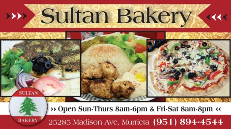 Sultan Bakery Open Daily!